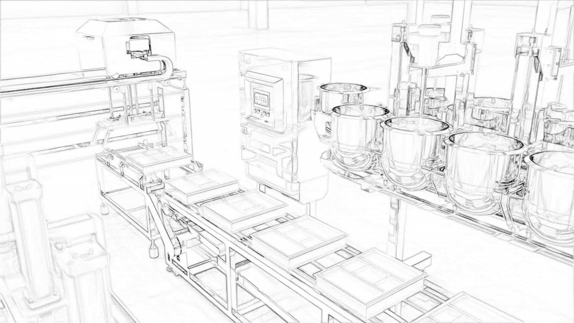 konstrukcje salowe dla produkcji